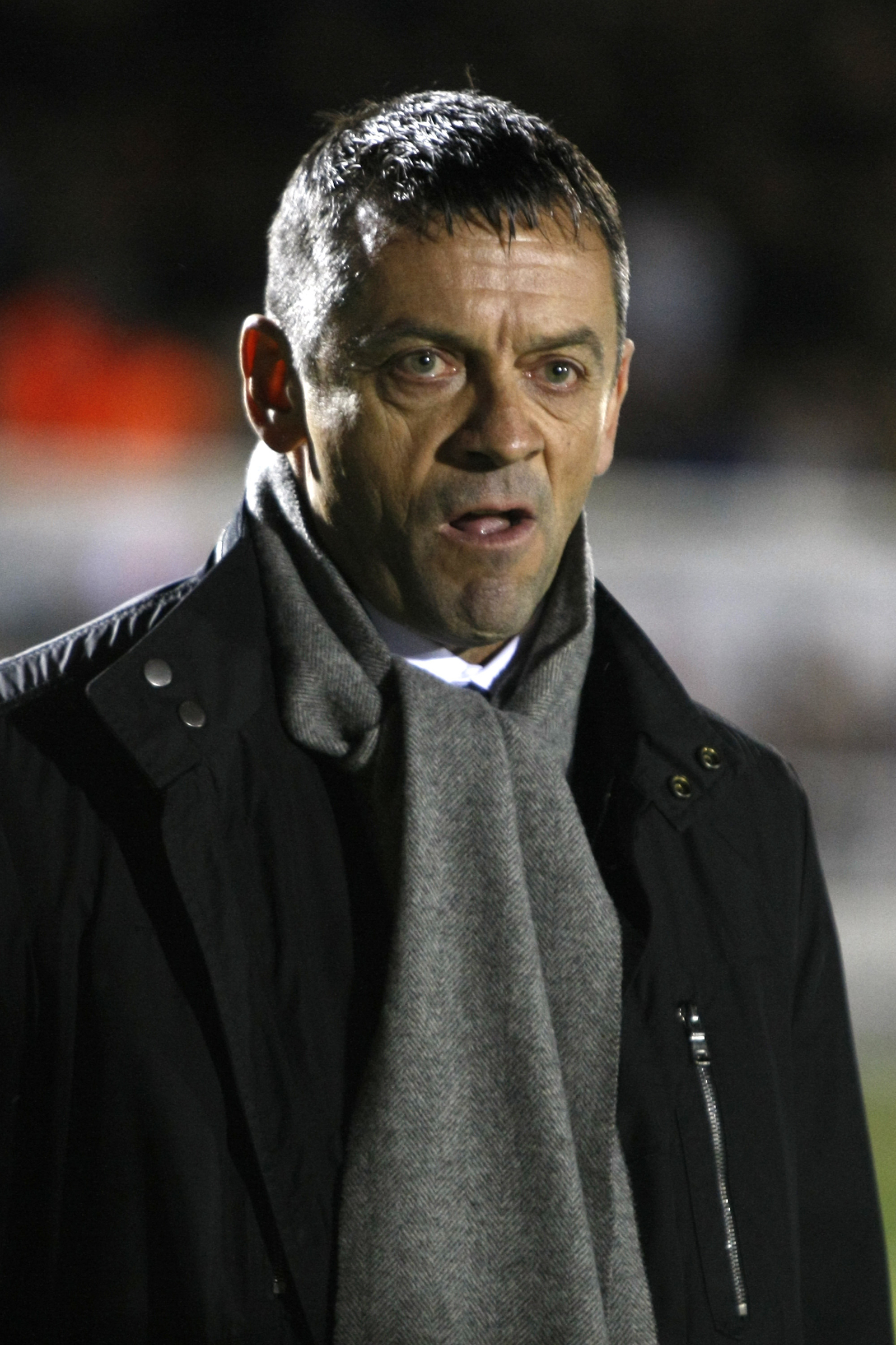 Phil Brown - thinks the next five games will be crucial for Southend United