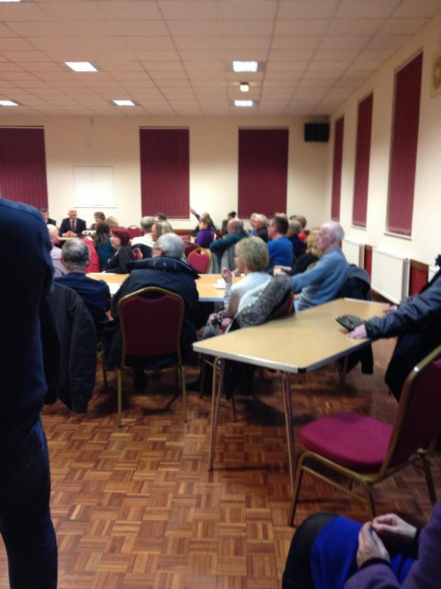 Echo: We really don't want 4,000 new homes in Castle Point: More than 100 residents turn out in force to lobby politicians