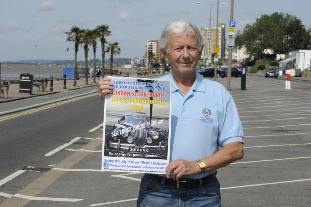Echo: Monthly classic car rallies planned for Southend seafront