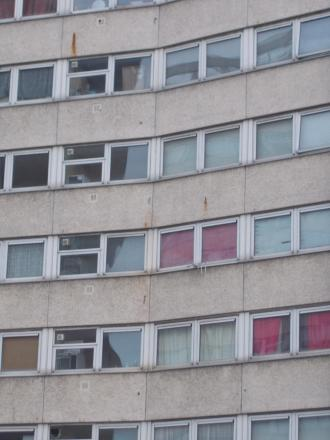 Tower blocks make up 17 per cent of council housing stock