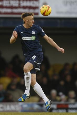 Luke Prosser - back in training for Southend United