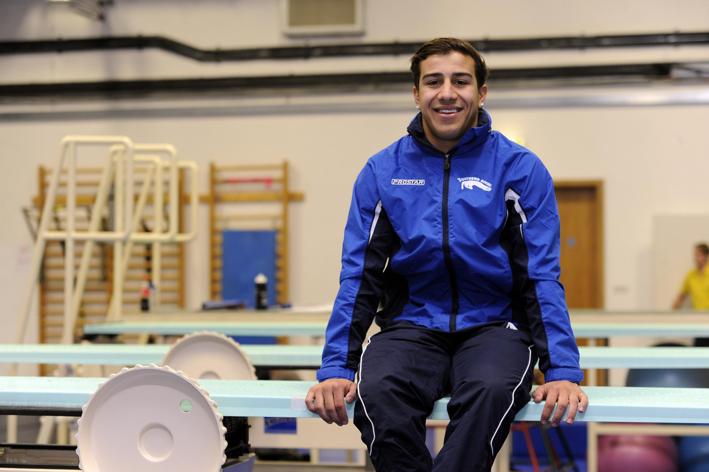 Proud moment – Duran Omer represented Great Britain at an international meet in Germany