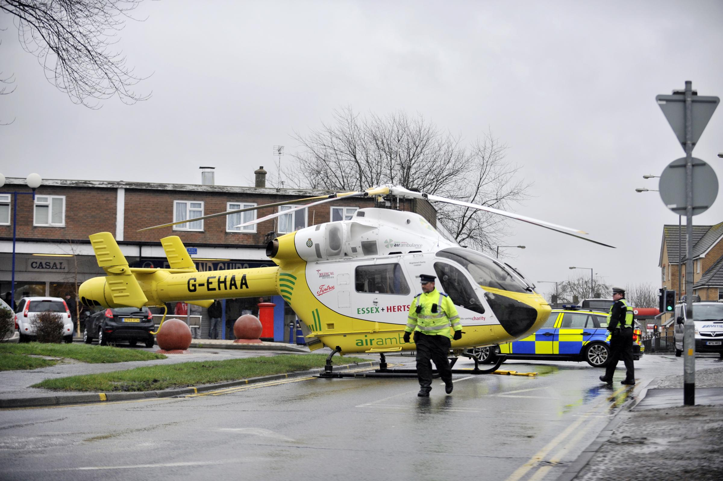 Updated: Motorcyclist in critical condition following Basildon crash