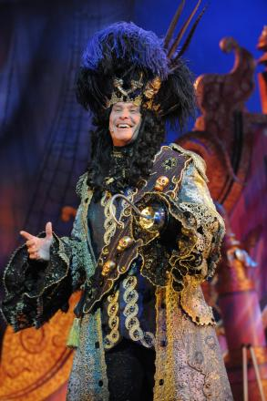 Hoff the hook! David Hasselhoff to star in Cliffs Pavilion panto