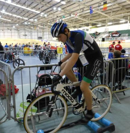 Matthew Hamilton — has been successful on the athletics and cycling tracks