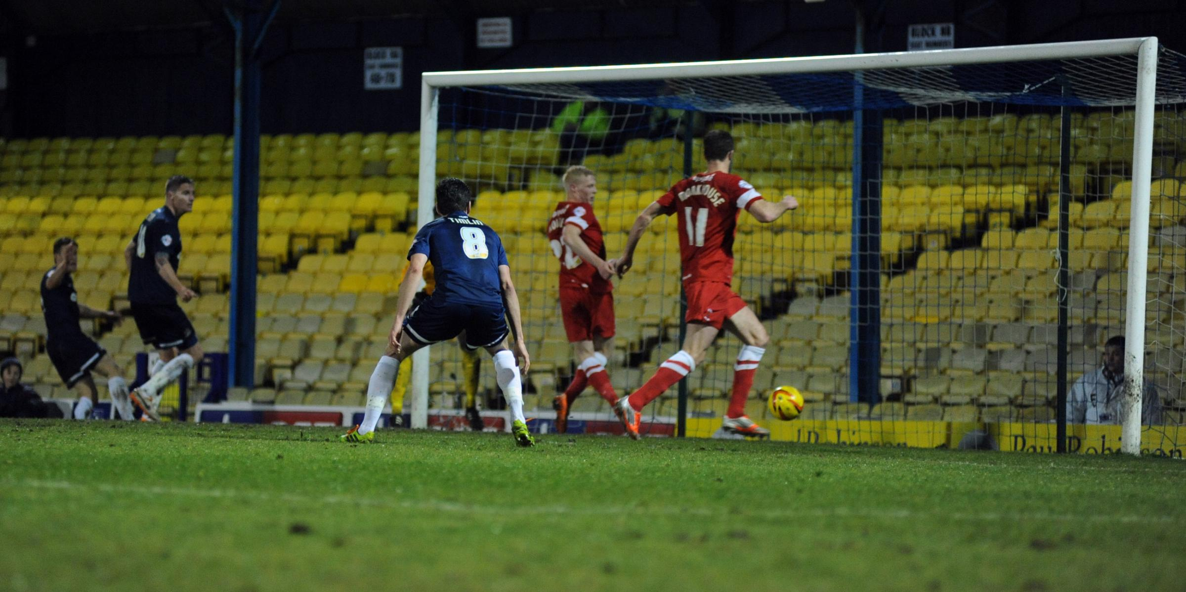 Barry Corr - back on the score-sheet for Southend United