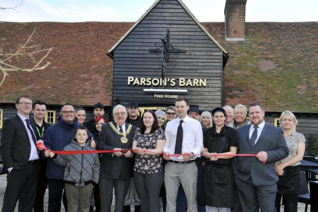 Historic barn opens as community pub