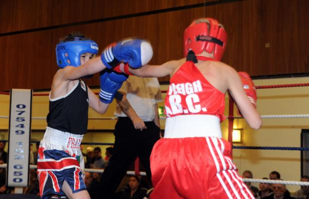 Action from the Rayleigh show