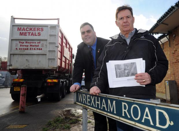 Echo: Campaigners fight scrap yard's new plans