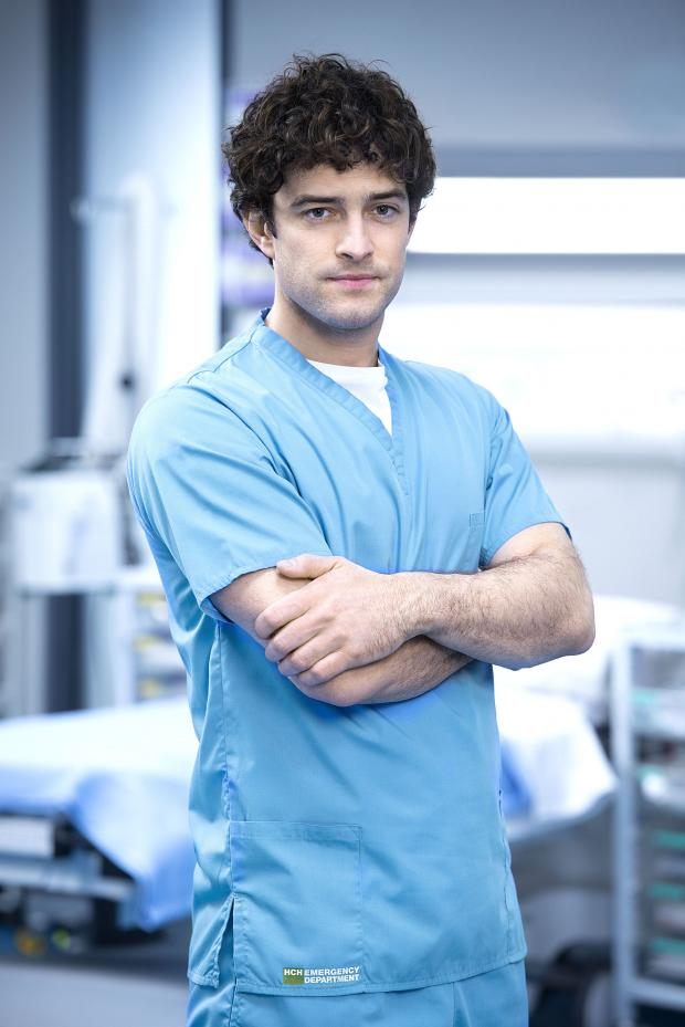 Echo: Lee Mead's Lofty new role in Casualty is a big honour