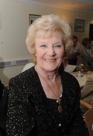 Volunteer – Pearl Naylor has manned the information desk at Southend Hospital since the 1990s