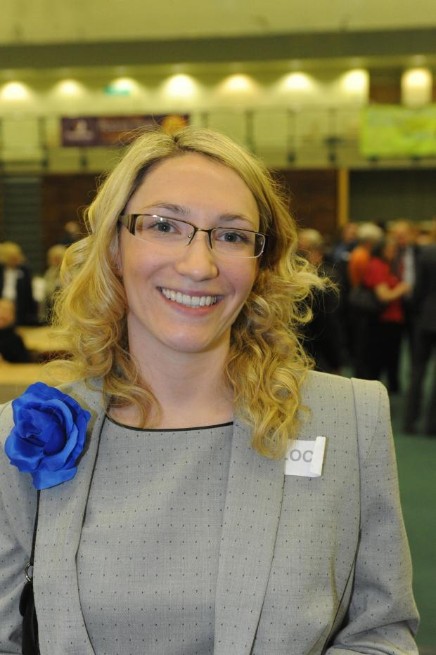 Echo: Louise Burdett, who is to stand down as councillor for Kursaal
