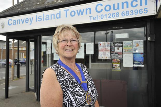 In charge – councillor Joan Liddiard is the new chairman of the Canvey Community Archive