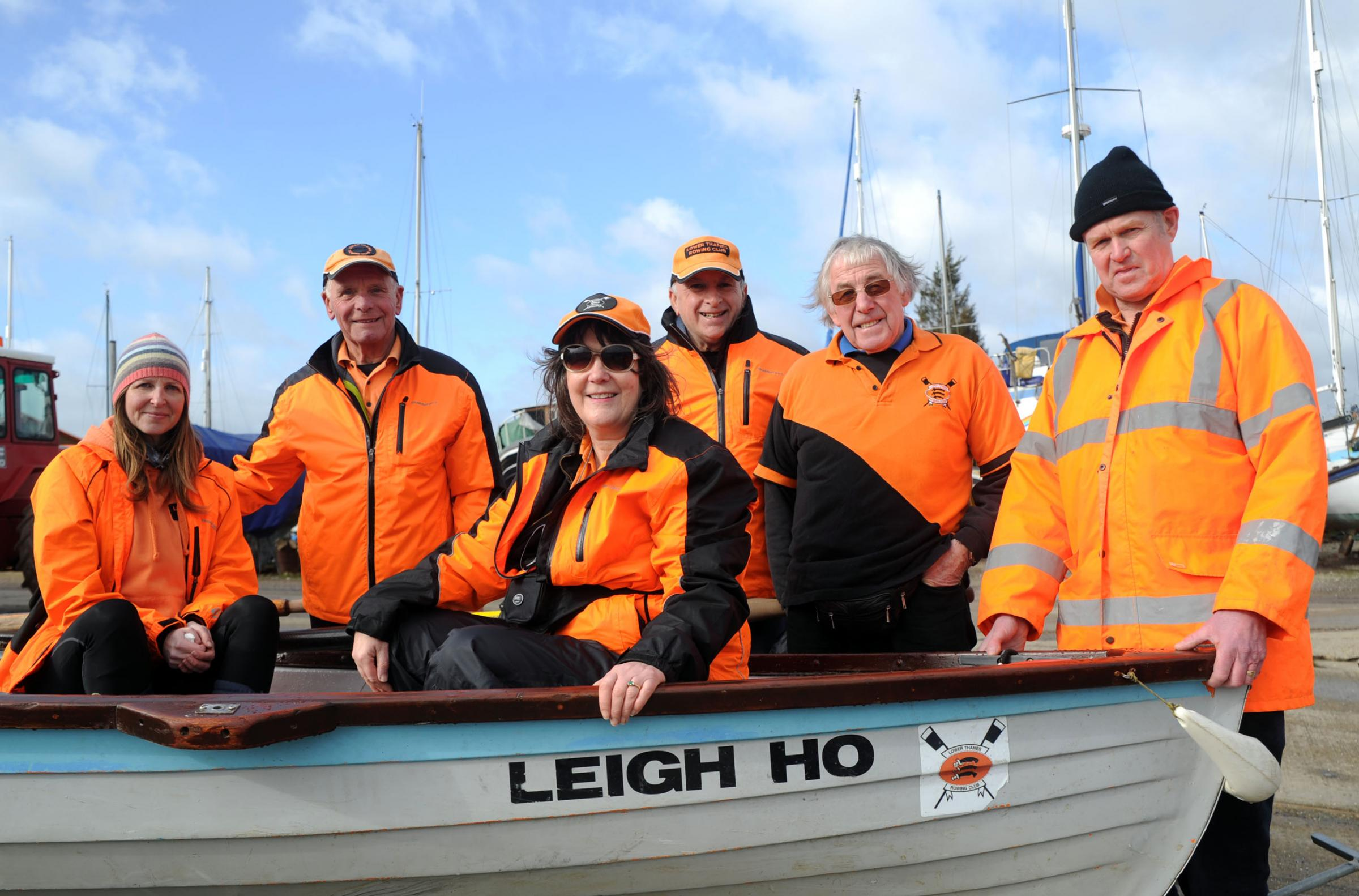 Hoping for a new boat house – Laura Dunmow, Dave Allen, Jackie Jackson-Smith, Norman Beswarick, Ron Sverdloff and Chris Green