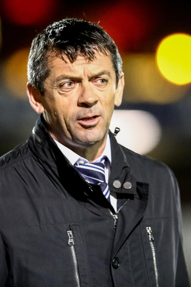 Echo: Phil Brown - ready for the play-offs with Southend United