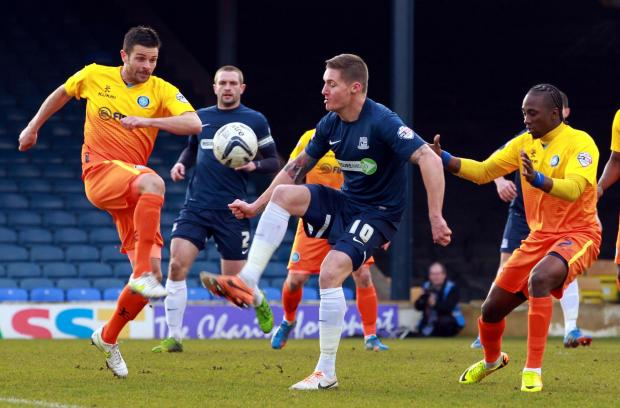 Barry Corr - will be missing Southend United's next three games