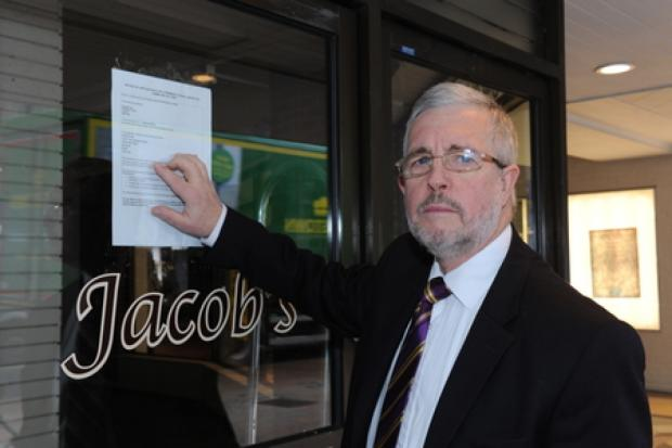 Echo: No more – Nigel Le Gresley at the closed Jacobs store
