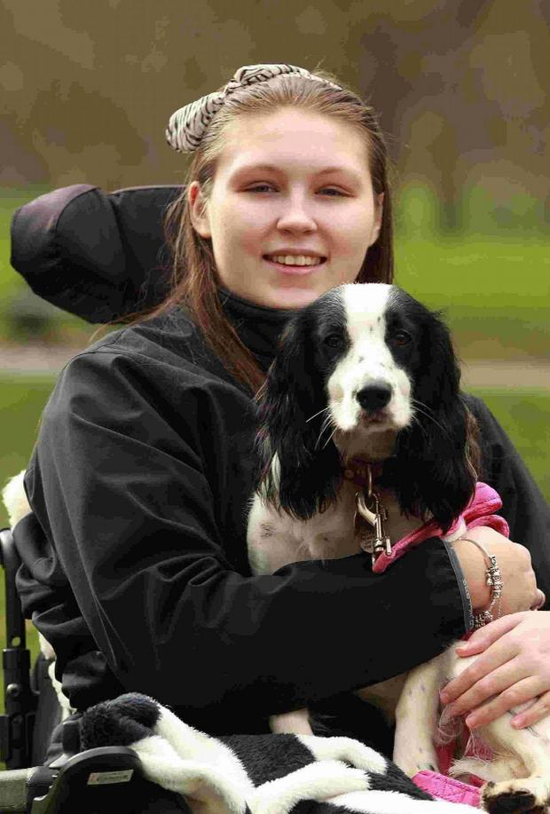 Echo: 'My reason for fighting' – Lucy with her dog Molly