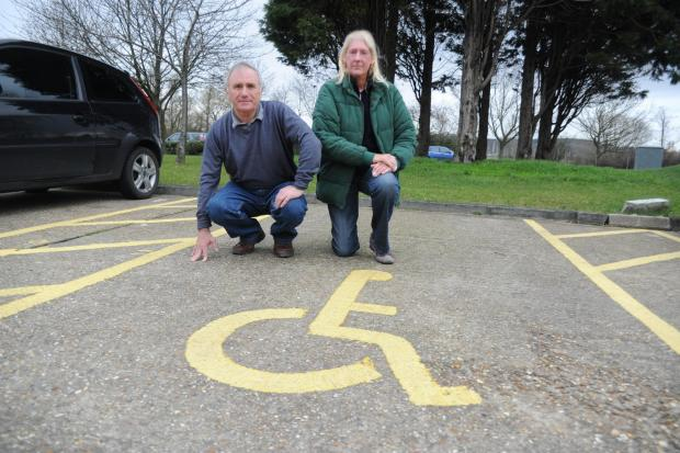 Waterside parking bays ban for disabled...and it's all your council's fault