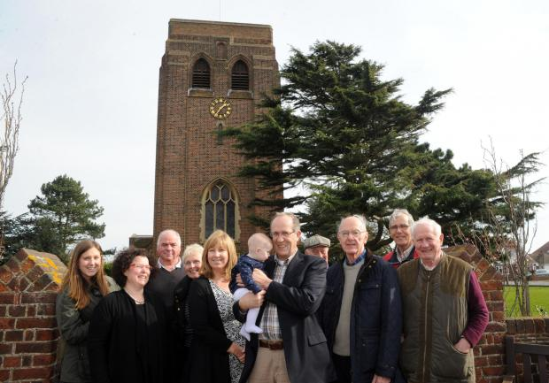 Echo: Members of the Burges Estate Residents' Association