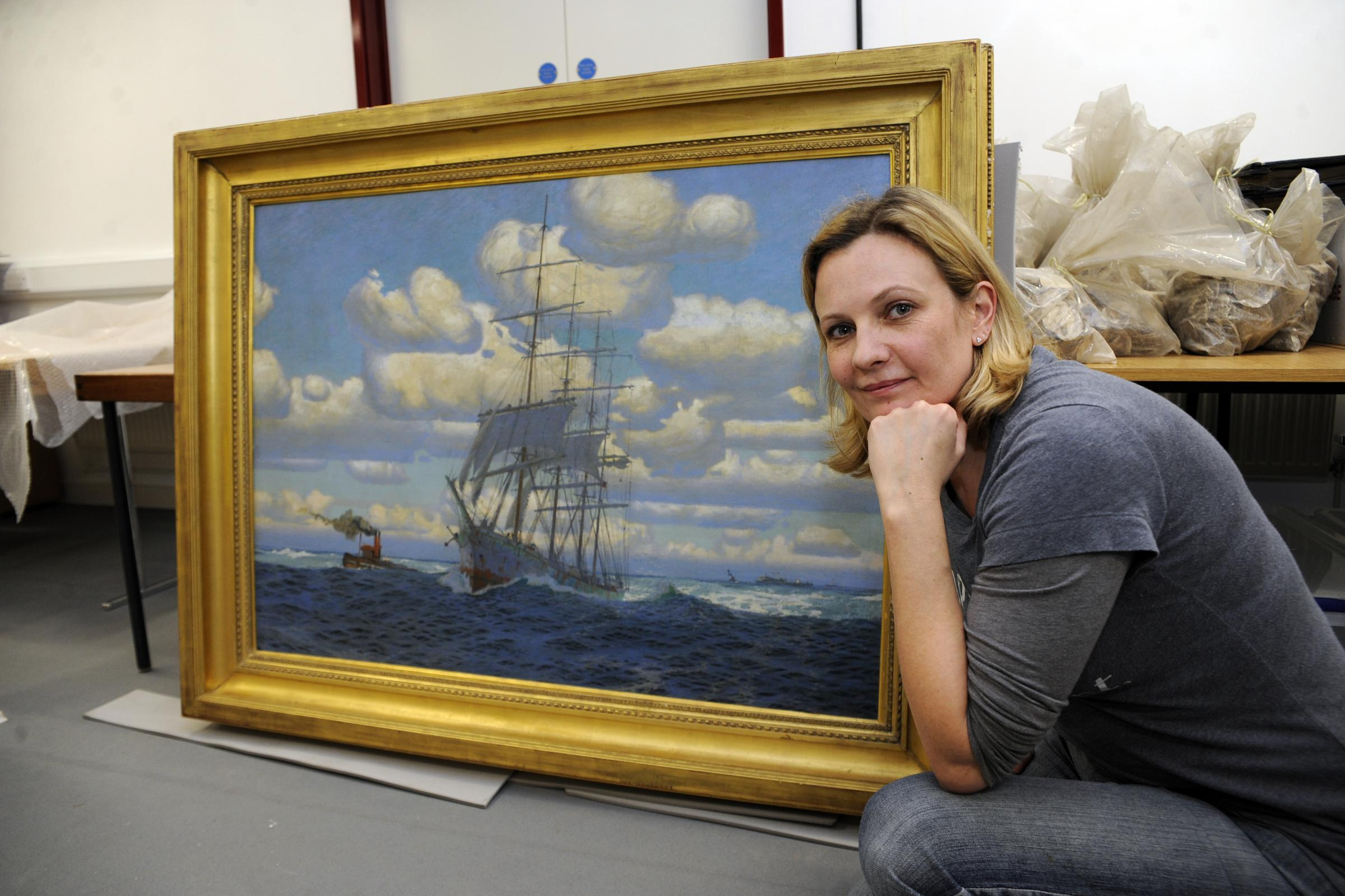 Gallery given sought after painting of the town's past