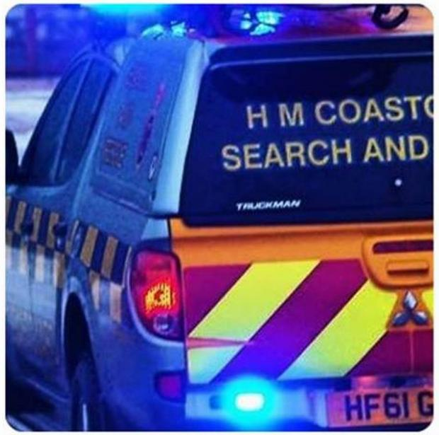 Woman rescued after breaking ankle on beach