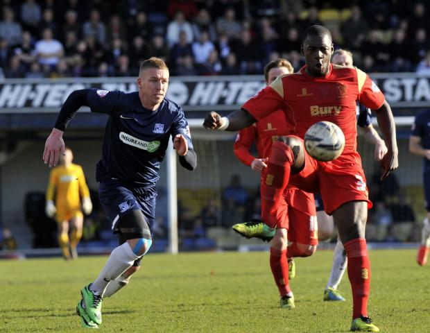 Freddy Eastwood - missed Blues' best chance to score