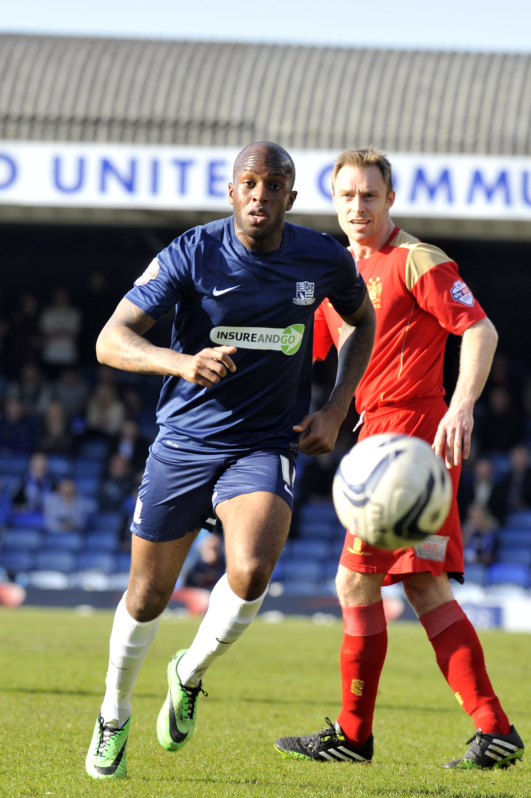 Anthony Straker - could be leaving Southend United