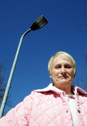 Concerned – Lynn Wood wants the pavements fixed if street lights are staying off