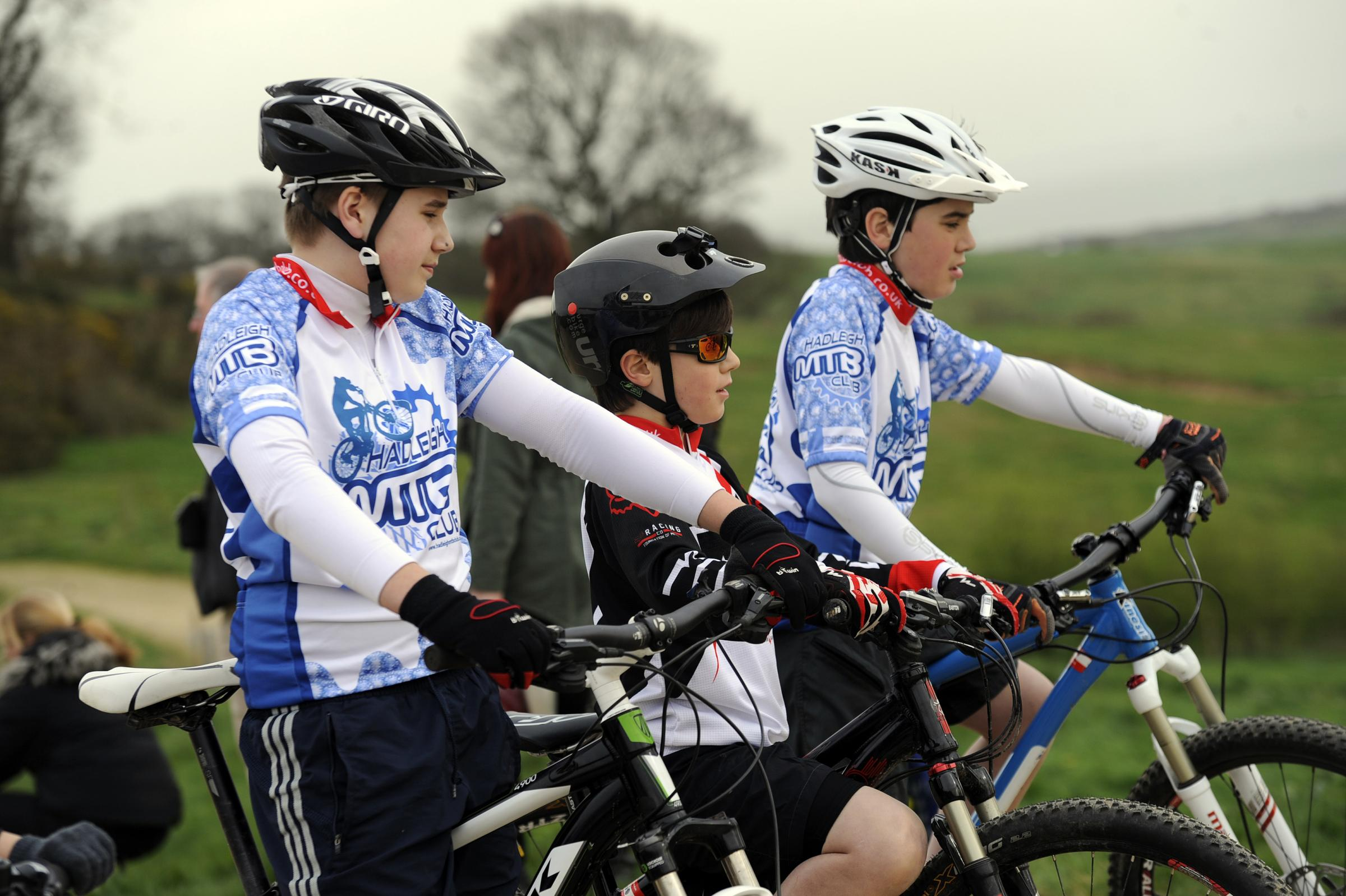 Wheel deal – young cyclists got the chance to train with profesional mountain bikers