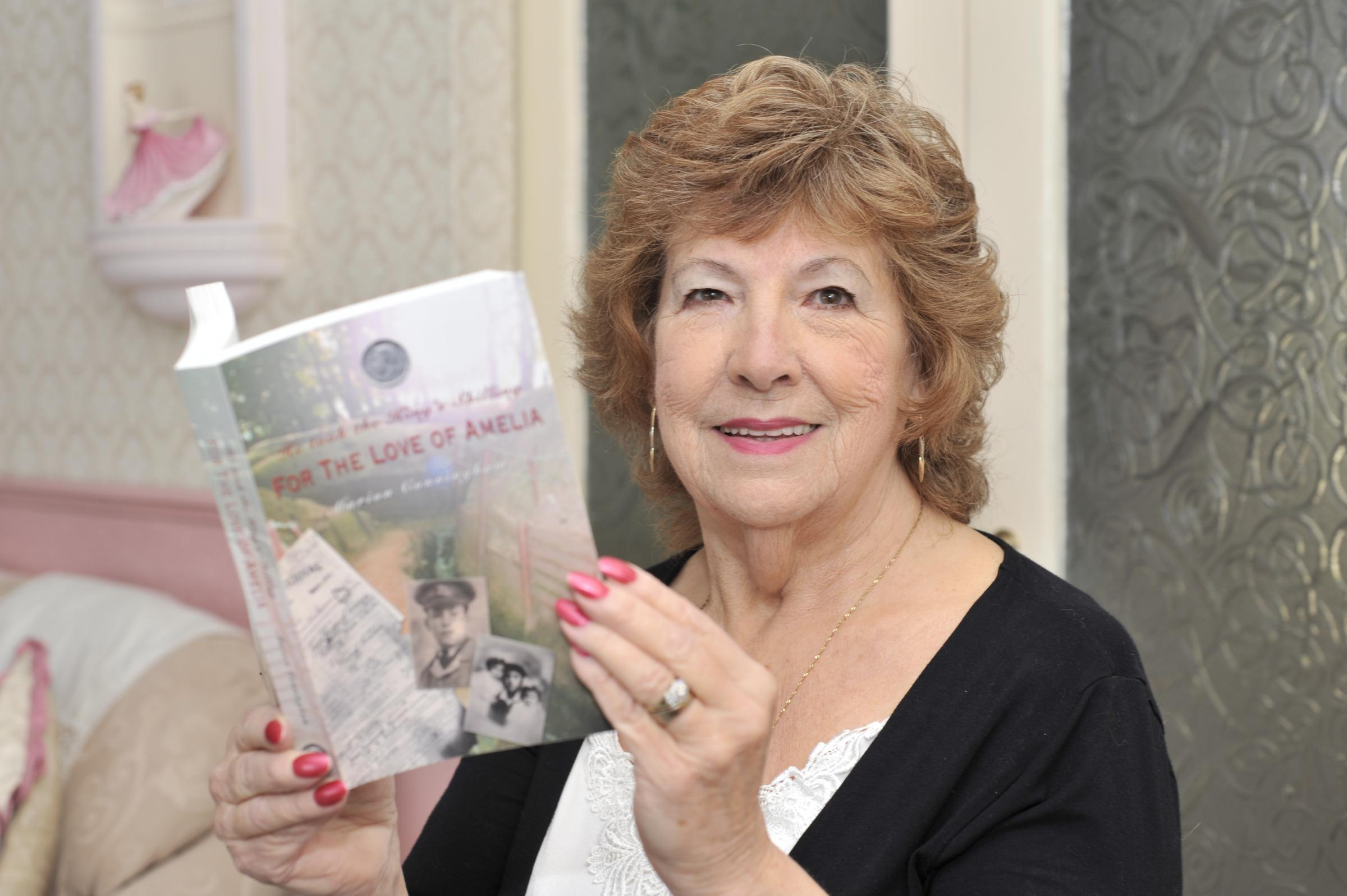 Marion's debut book is true family story of war time Britain