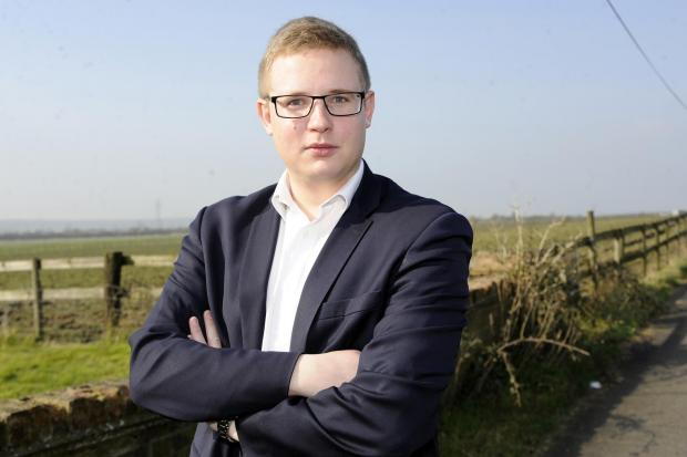 Young councillor: I'm staying so I can stand
