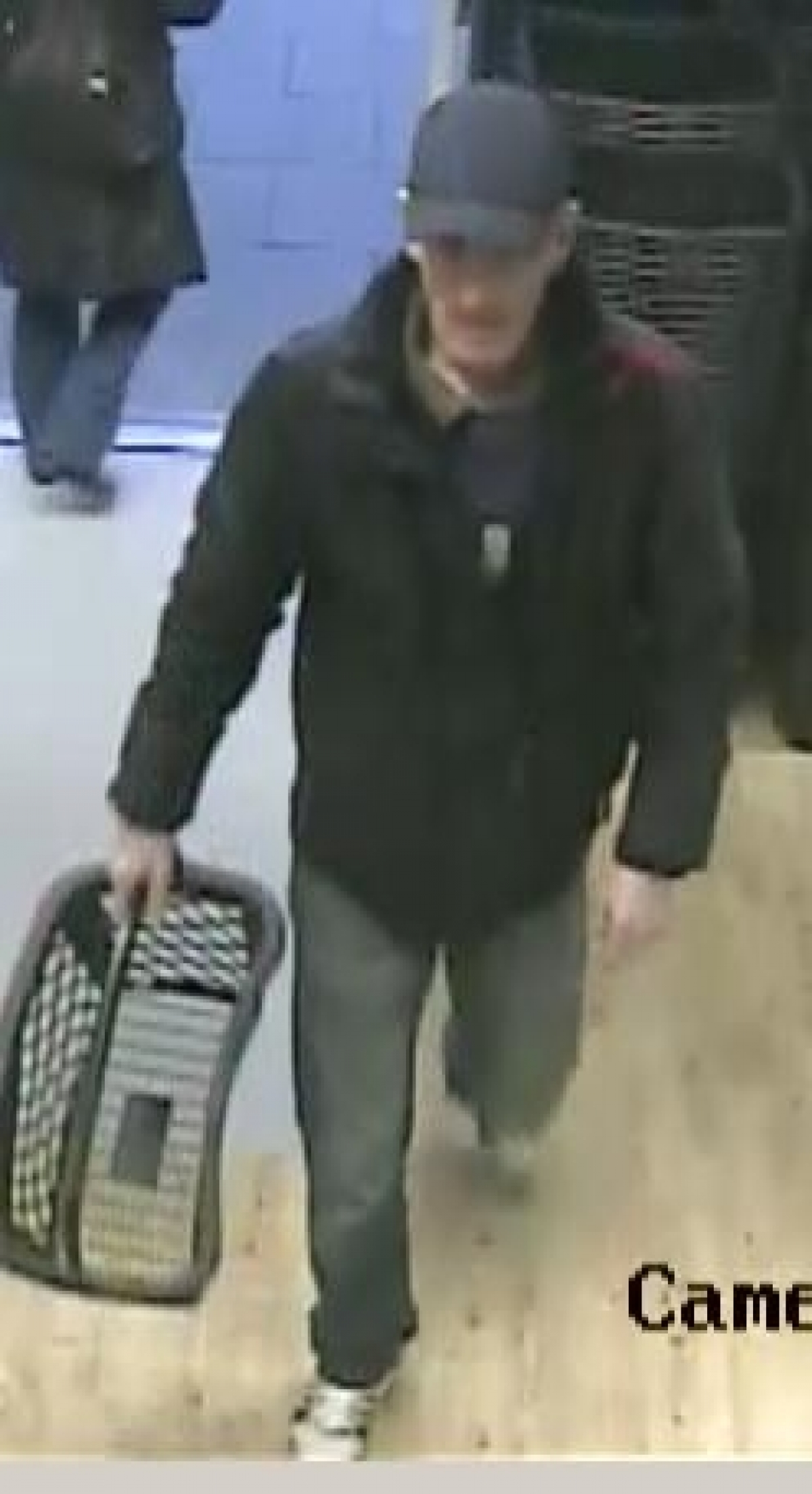 Police have released this CCTV image of the man they want to identify