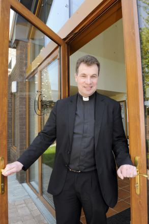 We welcome gay marriage, but no weddings - says Father Howarth
