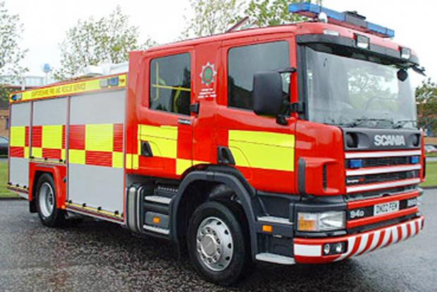 Fire crews called to blaze in Westcliff