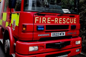 Two crews called to kitchen fire