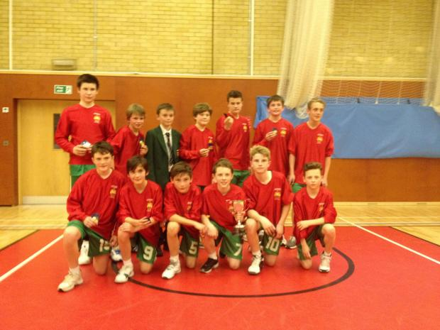 Convincing winners – Southend High's Year 7 basketball side