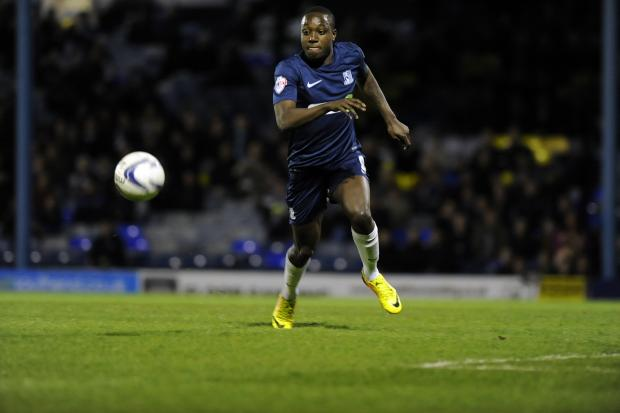 Jamar Loza - in fine form for Southend United