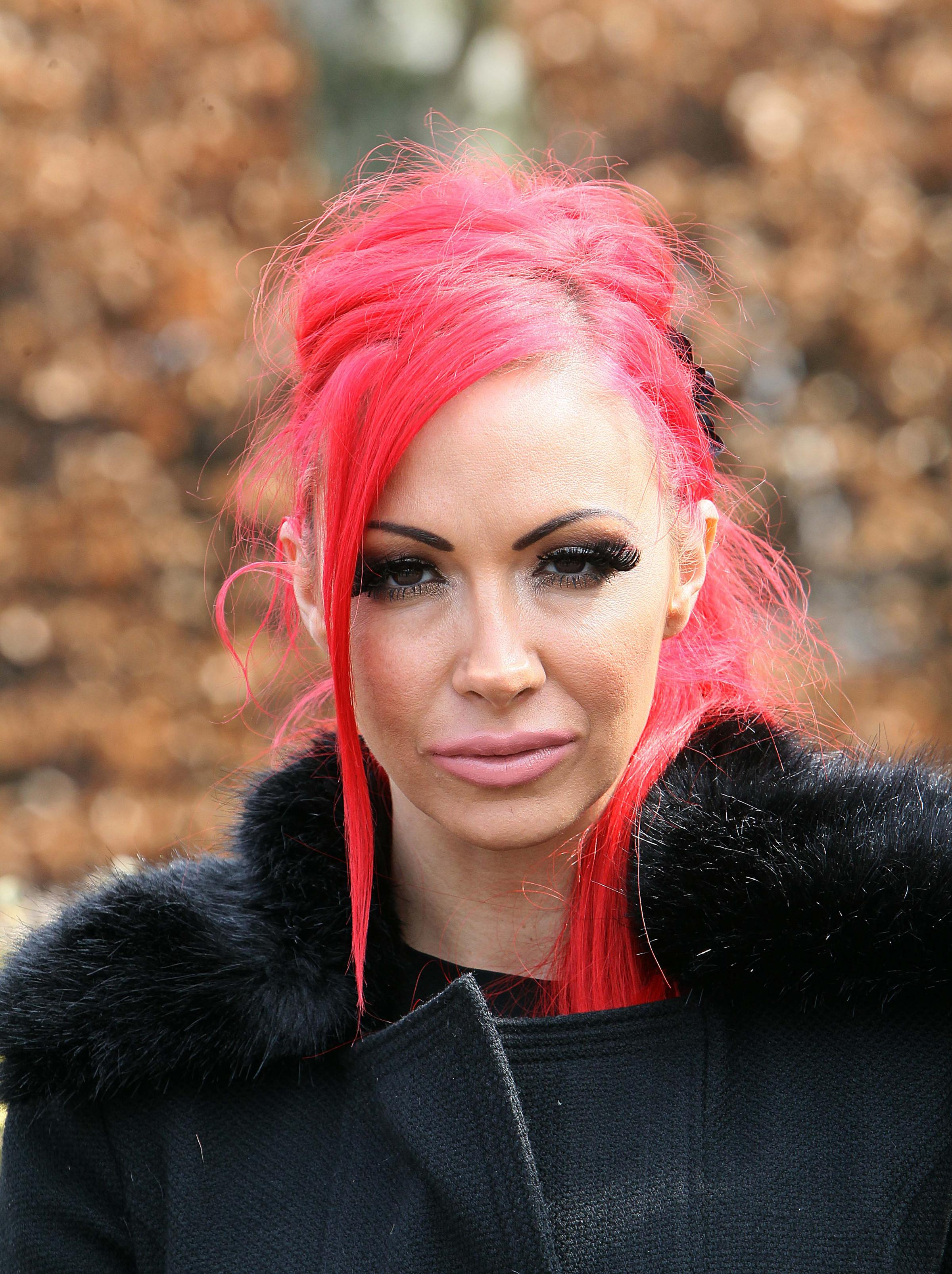 Pervert who bombarded Jodie Marsh with obscene pictures is found guilty of stalking