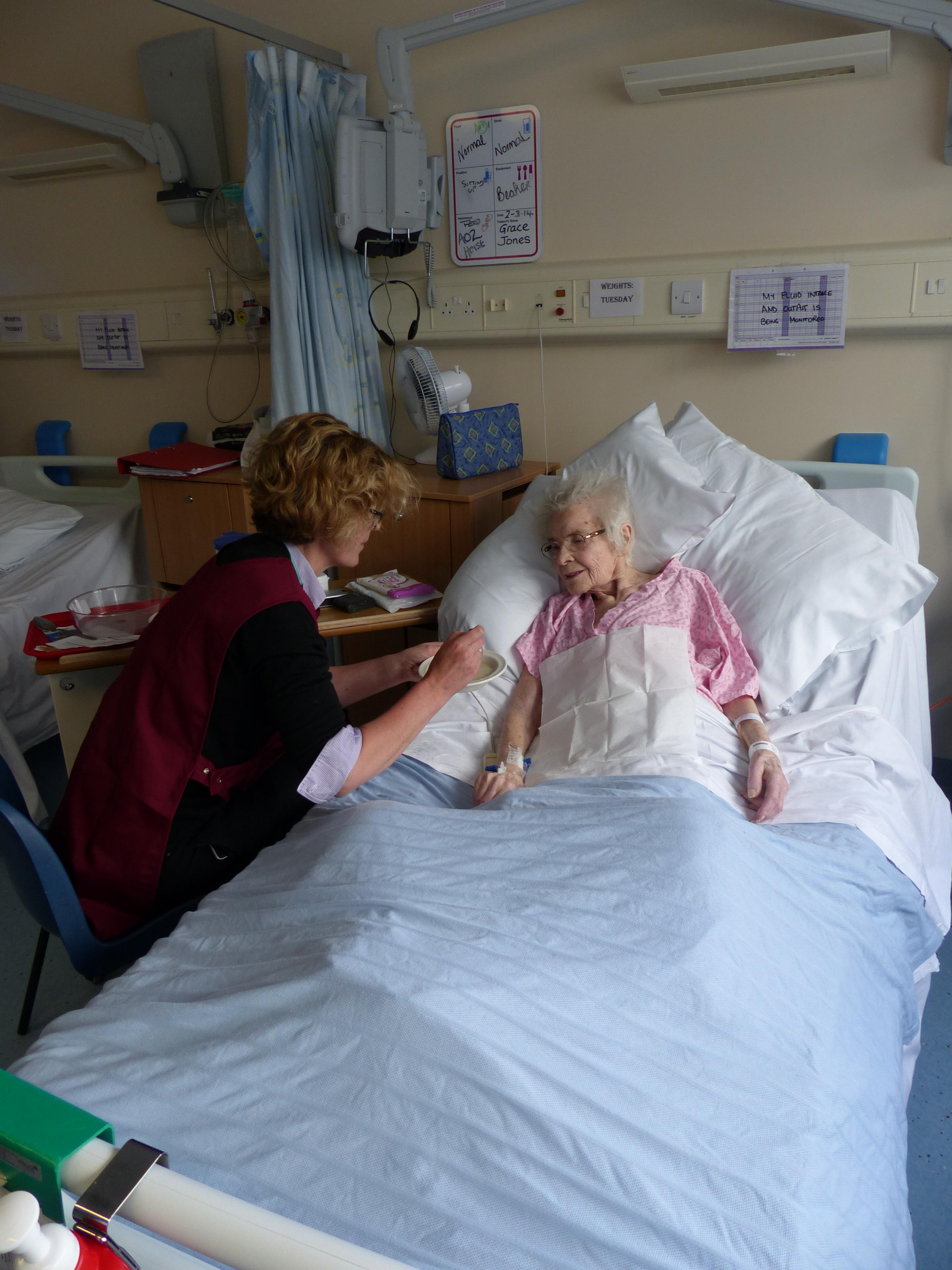 Caring volunteers – the helpers at Basildon Hospital