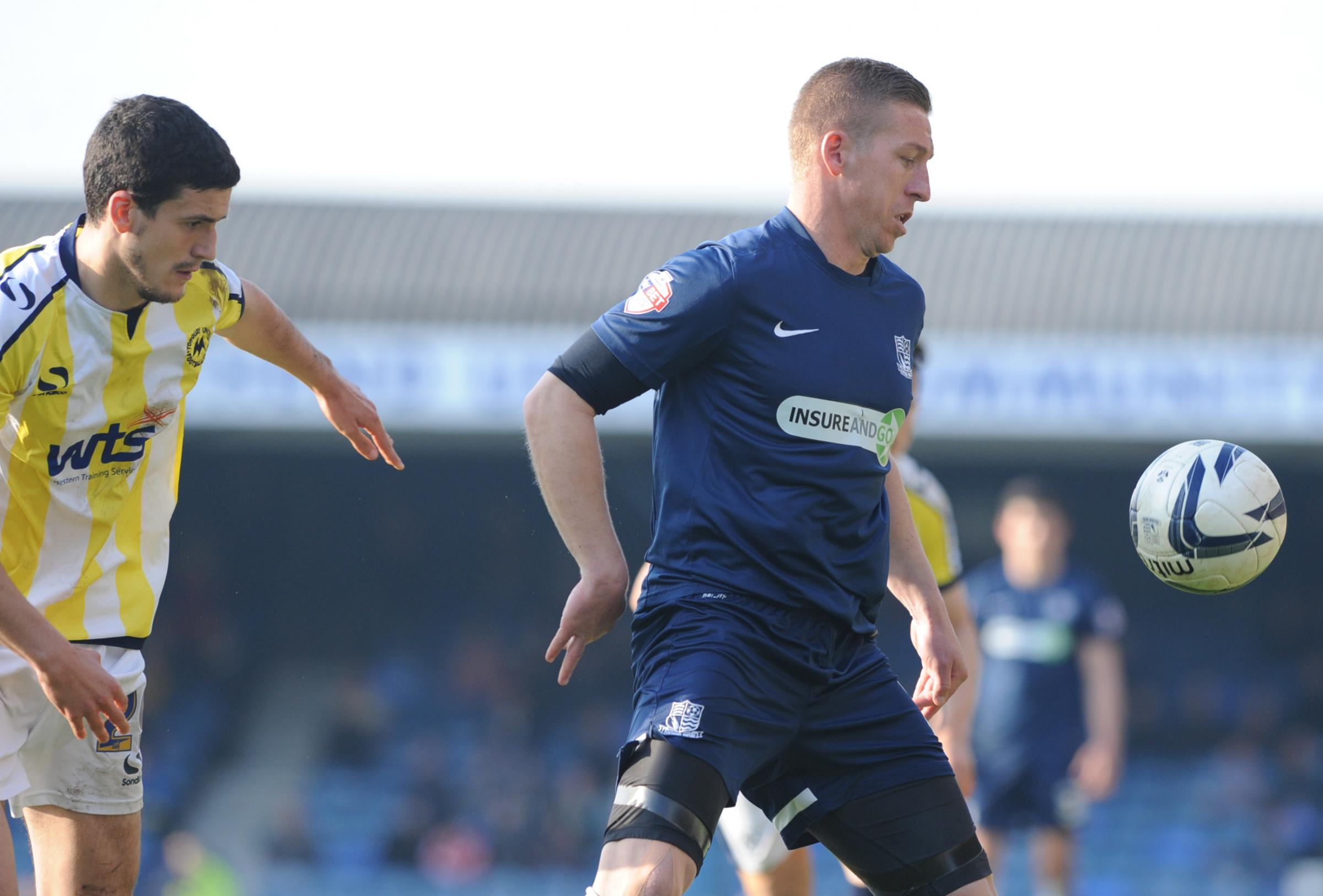 Freddy Eastwood - bagged the only goal of the game