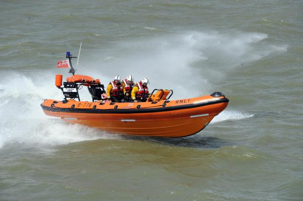 Swimmer rescued after being spotted hanging on to Southend pier