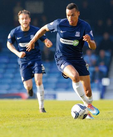 Jacob Murphy - stays on the left wing for Southend United