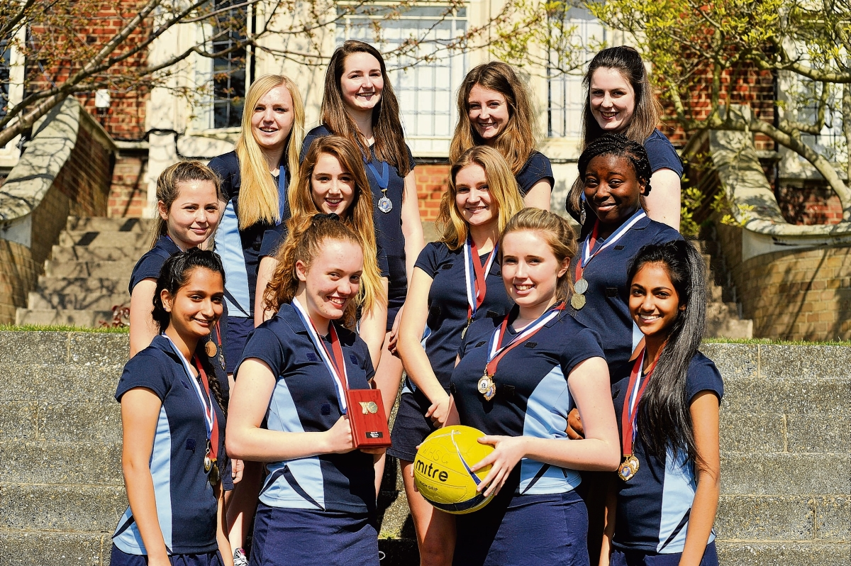 Westcliff High School for Girls' netball team lead the school's successes
