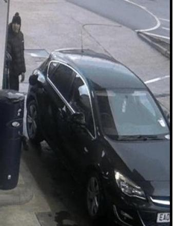 Police want to speak to this man in connection with the theft of petrol from Pitsea