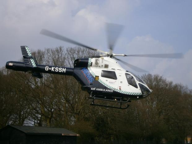 Echo: Basildon Hospital's air ambulance landing site set for development