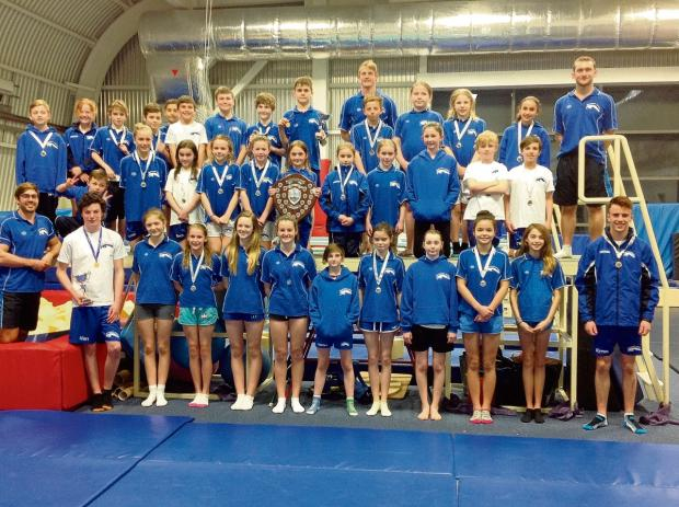 Southend Diving Club members at the London Op