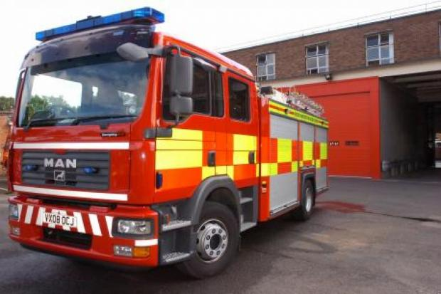 Echo: Fire breaks out on industrial estate