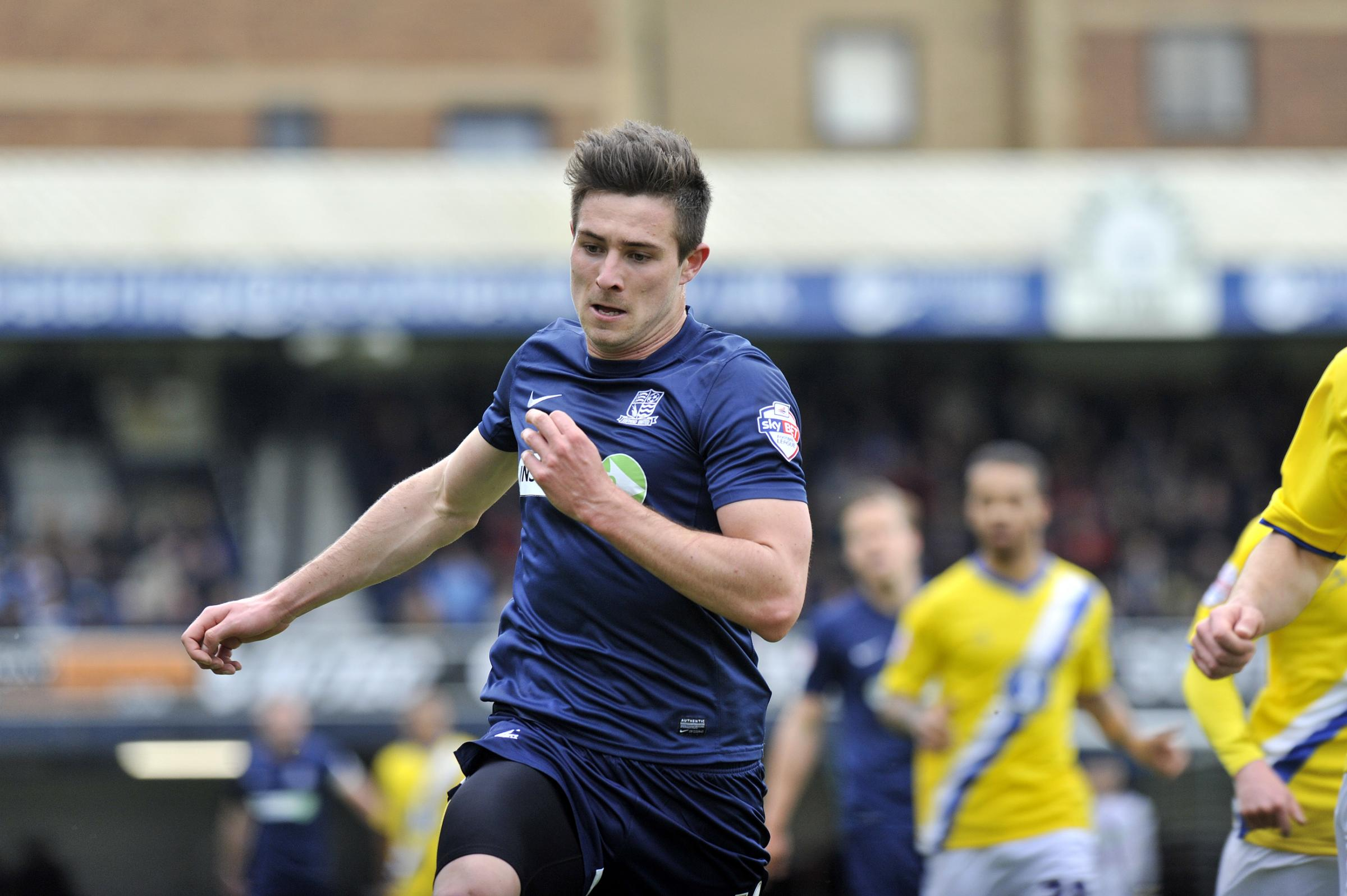 Ryan Leonard - urging Southend United not to dwell on their defeat to AFC Wimbledon