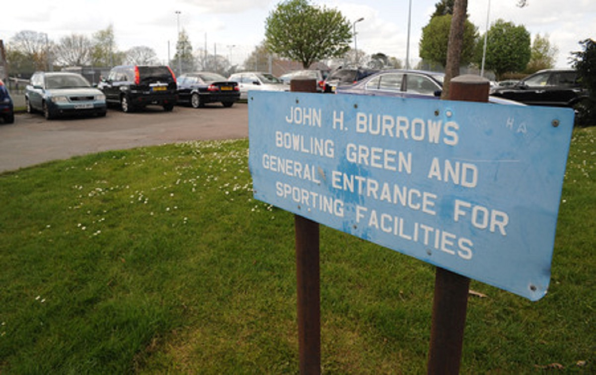 New facilities – John H Burrows recreation ground in Hadleigh